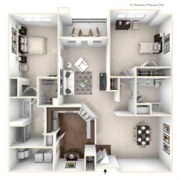 Floor Plan  The Princeton Floor Plan in 3D