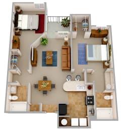 Floor Plan The Caspian