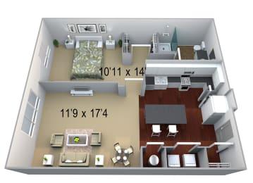 Walton Westide A3 Floor Plan