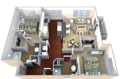 Walton Westside B2b Floor Plan