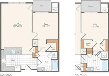 Floor Plan A06