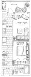 studio apartments in calgary
