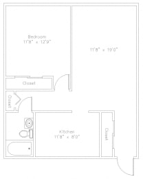 1 Bed Apartment in State College