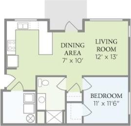 Floor Plan The Columbia