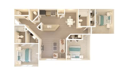 Bahia Cove Floorplan