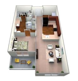 A1 Floor Play Layout