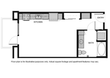 Floor Plan  S1 Floor Plan at South Park by Windsor