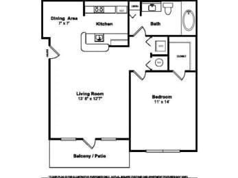 Floor Plan  Floorplan at Windsor at Miramar, 3701 Southwest 160th Avenue, Miramar, 33027