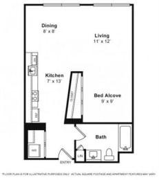 Floor Plan  Floor Plan at Villa Montanaro,203 Coggins Drive Pleasant Hill