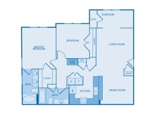 The Vanderbilt Floor Plan at The Reserve at Maryville, Tennessee, 37801