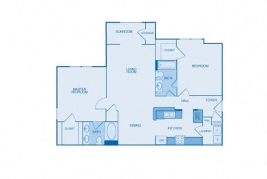 The Winchester Floor Plan at The Reserve at Maryville, Maryville, TN, 37801