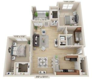 Floor Plan Snowbird