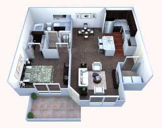 Walton Bluegrass A1 Floor Plan, Alpharetta GA
