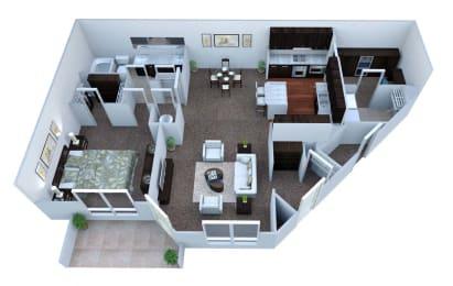 Walton Bluegrass A2 Floor Plan, Alpharetta GA