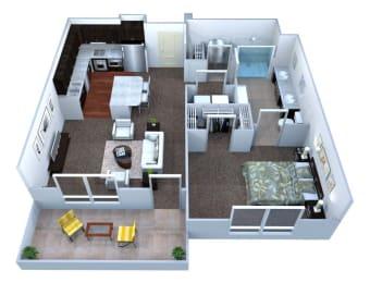 A1 Floor plan layout