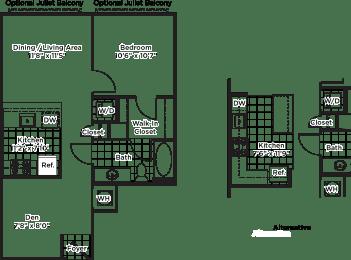 Floor Plan ad02 Den