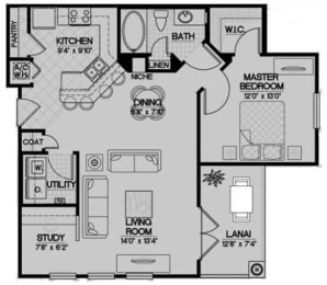 Floor Plan The Hatteras