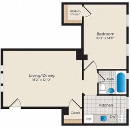 Floor Plan A01 - South