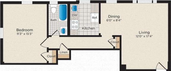 Floor Plan A03 - North