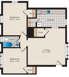 Floor Plan B03 - North