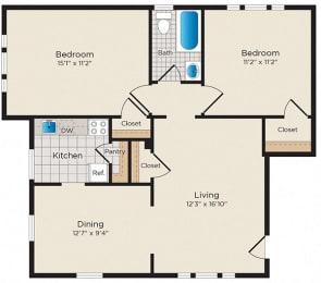 Floor Plan B04 - West