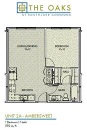 Floor Plan Ambersweet