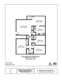 three bedroom affordable apartments