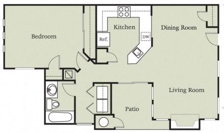 Floor Plan Andalucia w/garage