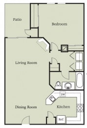 Floor Plan Aragon w/Garage