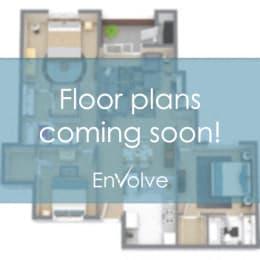 Floor Plan 1 Bed - 1 Bath