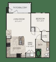 Floor Plan A1M