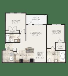 Floor Plan B1M