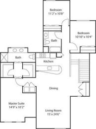 G4- 55+ Adult Living Floorplan at Reunion at Redmond Ridge, Redmond, WA