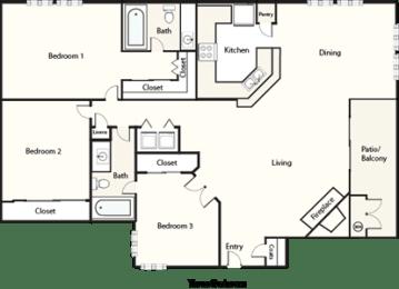 Floor Plan White Holland