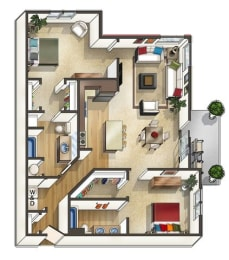 Spring Creek Floor Plan at The Trails at Timberline, Colorado