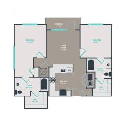 Floor Plan B1.1