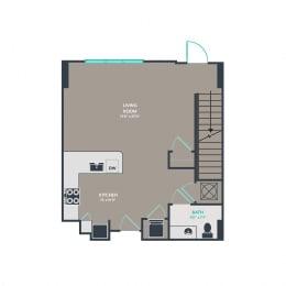 Floor Plan T1-Loft