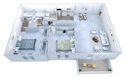 Walton Grove C Floor Plan Layout, Smyrna GA