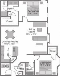 Floor Plan The Riverside I