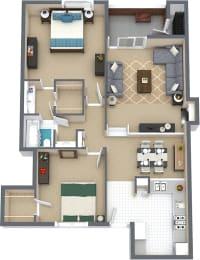 Floor Plan CONTEMPORA