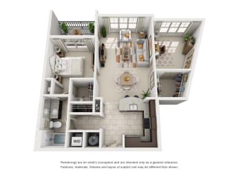 Floor Plan A2 Den