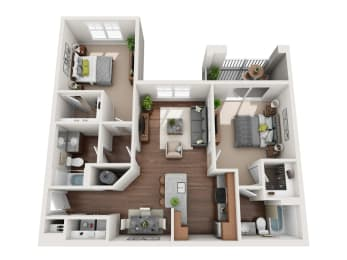 Floor Plan The Burton