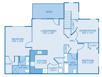 Washington 1st Floor at Oak Hill Apartments and Townhomes, New York, 12144