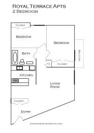 Royal Terrace floorplan