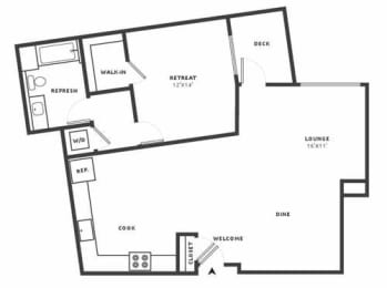 A29 Floor Plan at Aire, California, 95134