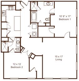 Floor Plan Metropolitan 11