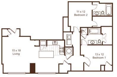 Floor Plan Metropolitan 9