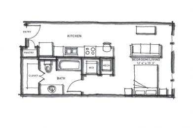 studio apartments in east austin