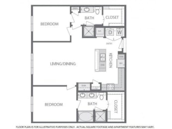 Floorplan at Windsor at West University, Houston, TX 77005