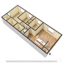 Floor Plan Hampton